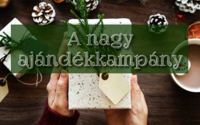 A nagy ajándékkampány