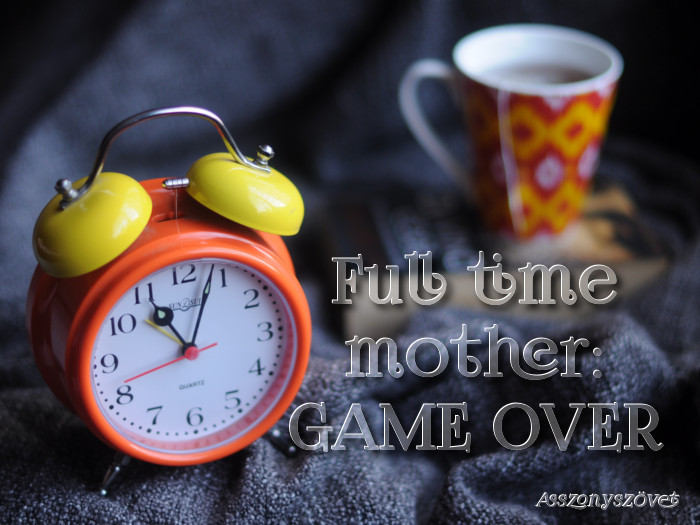 full time mother game over